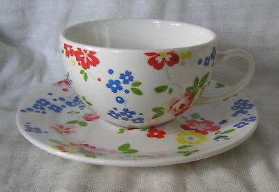 Wonderful Huge Tea Cup And Saucer Cath Kidston Design By Queens China