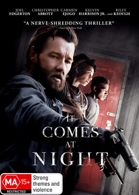 It Comes At Night DVD R4 New!