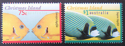 1995 Christmas Island Stamps - Marine Life Definitives Pt I - Set of 2 MNH