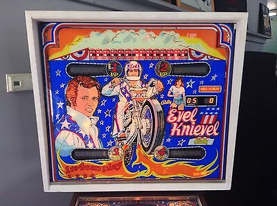 COLLECTOR QUALITY Evel Knievel Pinball Machine by Bally-FREE SHIPPING