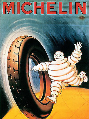 Michelin Tyres, Retro metal Aluminium Sign Vintage Garage shed Man Cave British
