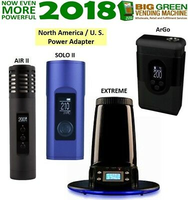 2018 Arizer ArGo, Air II, Solo II, Extreme WITH US NA Adapter - 2 DAY SALE ONLY