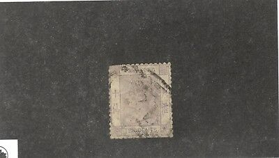 Hong Kong SCOTT #14  Θ used ten cent stamp