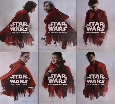 Star Wars Last Jedi Bus Shelter Posters Set Very Rare Original Movie Posters
