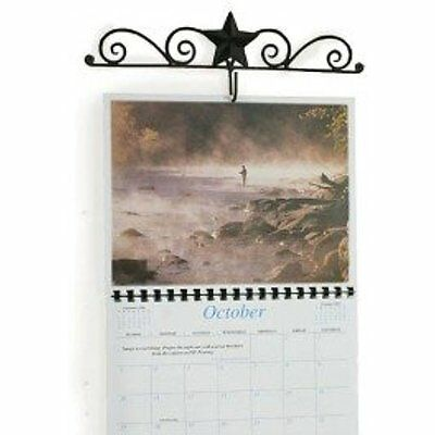 Calendars Planners & Personal Organizers Barn Star And Scroll Calendar Hanger In