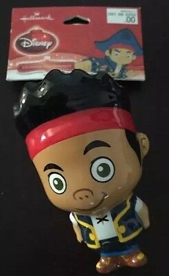 Disney Hallmark Pirate Boy Jake & The Never Land Puffy Christmas Ornament