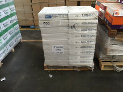 "1 LOT PALLET 15 CASES /17.5"" x 22.5"" 5-PART  CARBONLESS NCR PAPER  /3000 SETS"