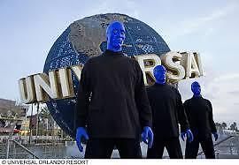 2 Blue man Group Universal Tickets $2Ea. TIER-2 (Please read the full Listing)