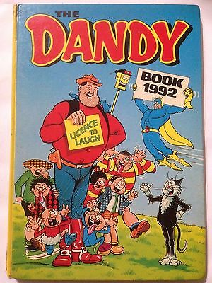 THE DANDY BOOK 1992 Annual. Good Condition. **Free UK Postage**
