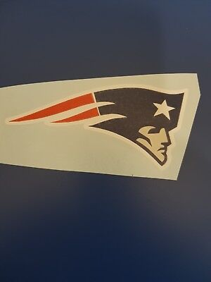 New England Patriots car, window or wall art vinyl sticker. Buy 2 get 3rd free