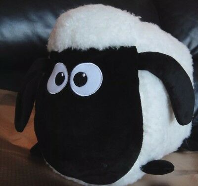 "NEW 14"" Shaun the Sheep *BIG* Pillow Shape  Plush"