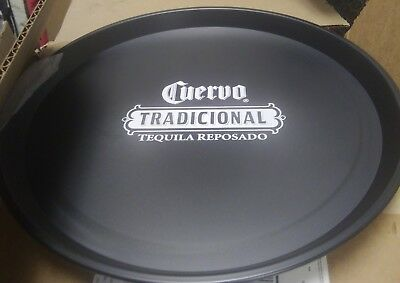 Jose cuervo tradiconal tequila reposado new flat black bar service tray man cave