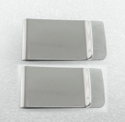 Fashionable Portable Stainless Steel Money Clip 50mm x 26mm