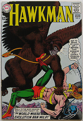 Hawkman #6 (Feb-Mar 1965, DC), NM+ condition