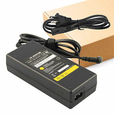 AC Adapter Battery Charger Power Supply Cord for Sony Vaio VGP-AC19V37 Laptop US