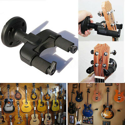 Guitar Wall Hanger Stand Holder Display Acoustic Electric Ukelele Guitar Bass