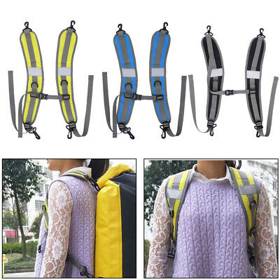 Camping Sports Dry Bag Pouch Sack Backpack Pouch Shoulder Strap Belt Pads EB