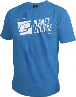 T-Shirt Planet Mens Pro-Formance Stencil hellblau