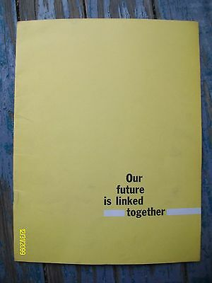 Original Vintage FEI Farm Equipment Institute Our Future Linked Together Booklet