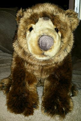 FAO Schwarz Toy's R Us  14.5 inch Brown Bear Mint Condition