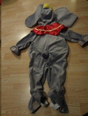 Infant/Baby Disney Sz 12 Mo. Dumbo The Elephant Halloween Costume