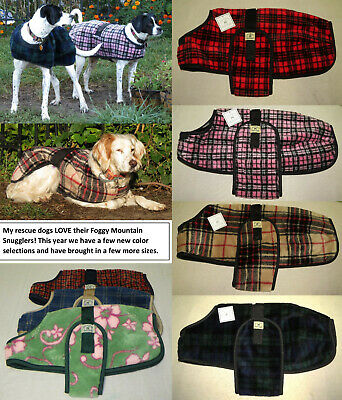 Foggy Mountain Dog Coats/ Snuggler & Turn Out- Pet Rescue Fundraiser