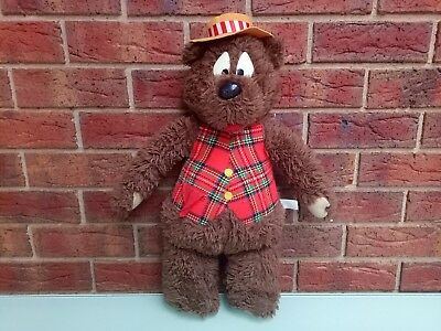 Humphrey B Bear Vintage 1965 JUMBO 60cm Tall Plush Toy Collectible TV Character