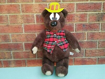 Humphrey B Bear Vintage 1965 JUMBO 63cm Tall Plush Toy Collectible TV Character
