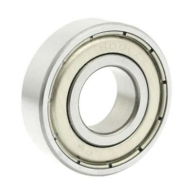 6001ZZ Double Shielded Deep Groove Ball Bearings 28mm x 12mm x 8mm H2I9
