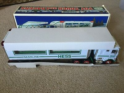 1997 Hess Toy Truck And Racers Cars~ In The Box