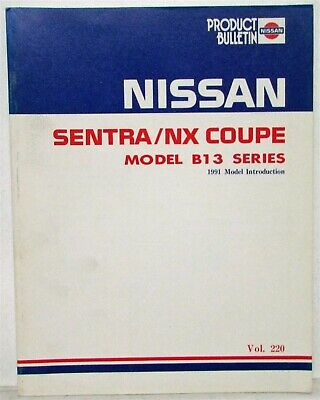 nissan sentra 1991 owners manual