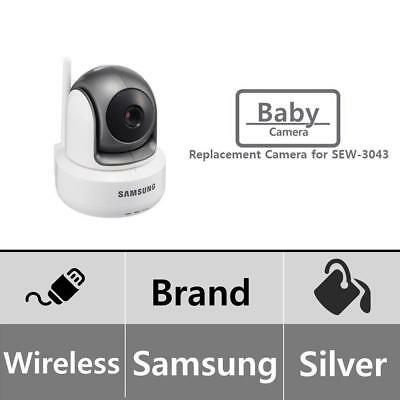 Samsung Wireless HD PTZ Video Baby Camera, White