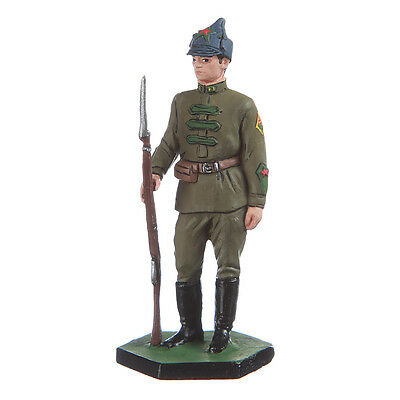 Tin Toy Soldier Soviet Russia / USSR Red Army Private 54mm hand painted #3.14