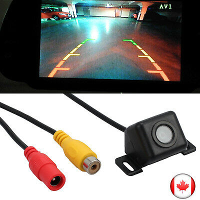 HD Car Rear View Night Vision Cam Reverse Parking Backup Camera Kit Waterproof