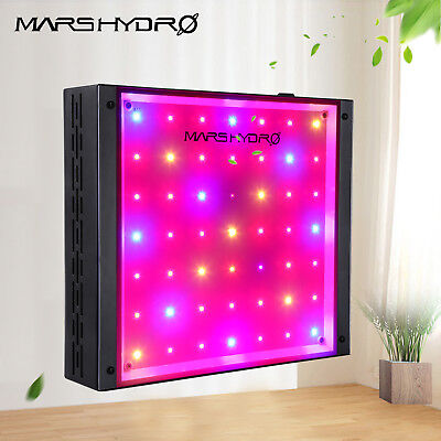 Mars ECO 49 LED Grow Light Lamp Hydroponics Indoor Garden Plants Full Spectrum