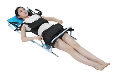 Cervical Spine Lumbar Traction Bed Therapy Massage Body Stretching Device  my#