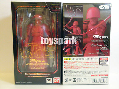 S.H. Figuarts Star Wars The Last Jedi ELITE PRAETORIAN GUARD with double blade