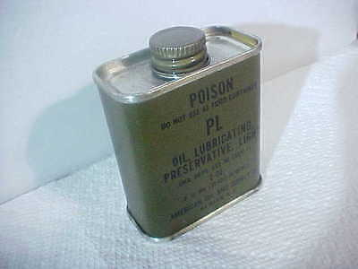 Vintage army oil can 2 oz. Empty Military USA AMERICAN OIL AND SUPPLY CO.