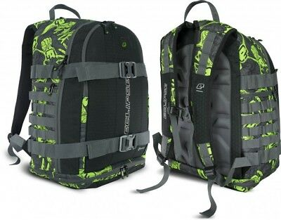 Rucksack Eclipse GX Gravel Bag Molle Zombie Stretch Poison grün