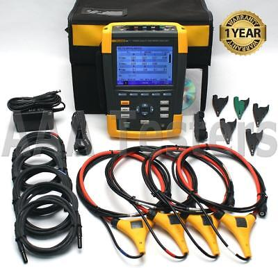 Fluke 435 Series II 2 Three Phase Power Quality Analyzer Meter w/ Harmonics