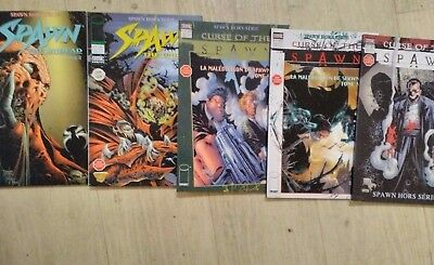 Mini lot 3 tomes Curse of The Spawn  + 2 tomes hors série Spawn the undead