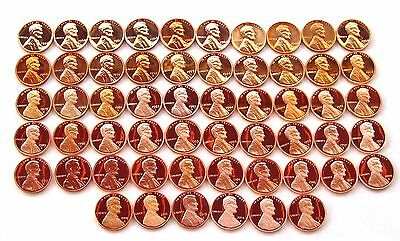 1959 P- 2019 S Lincoln Cent Proof & SMS  Complete Set 64 Coins