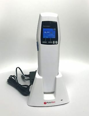 Accuvein AV300 Portable UV Light Vein Finder Transilluminator Locator w/ Charger