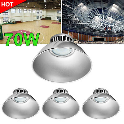 4X 70W LED High Bay Light Cool White Warehouse Industrial Factory Gym Lamp 110V