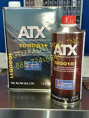 Atx1090511/Ats1200151 Sherwin Williams Overall Clearcoat Restoration Auto Paint