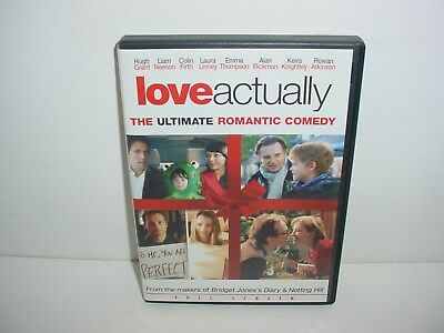 Love Actually DVD Movie