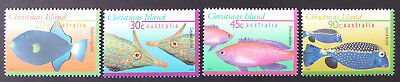 1995-1997 Christmas Island Stamps - Marine Life Definitives Pt II - Set 4 MNH