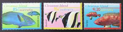 1995-1997 Christmas Island Stamps - Marine Life Definitives III- Set of 3 MNH