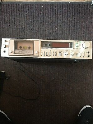 Technics DBX Stereo Tape Deck Model RS-M270X