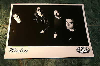 Mindset 8X10 Glossy Official Promo Picture 1998  Rare Htf Oop Mint